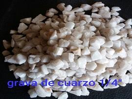 Grava de Cuarzo